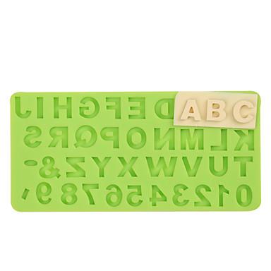 Bakeware-työkalut Silkonikumi / silikageeli / Silikoni Tarttumaton / Leivonta Tool / 3D Kakku / Cookie / Cupcake kakku Muotit