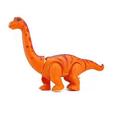 Iluminação de LED Blocos de Construir Brinquedos de Montar tiranossauro Dinossauro Animais Caminhada Elétrico Plásticos Crianças Para Meninos Brinquedos Dom / Tamanho Grande