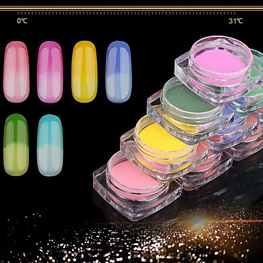 Grooming / Sequins / Glitter Powder Classic / Shiny / Glamour Nail Art Design Daily