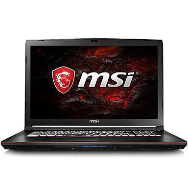 MSI gaming laptop 15.6 inch Intel i5-7300HQ 8GB DDR4 1TB HDD 128GB SSD Windows10 GTX1050Ti 2GB GP62 7RE-817CN