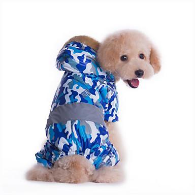 Cachorro Macacão Roupas para Cães Polícia / Militar Amarelo / Azul Plumagem / Algodão Ocasiões Especiais Para animais de estimação Homens / Mulheres Casual