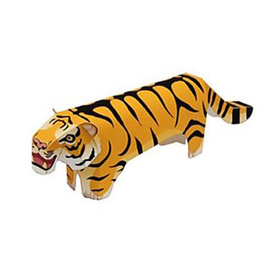 Quebra-Cabeças 3D Maquetes de Papel Tiger Animais Faça Você Mesmo Cartão de Papel Duro Crianças Unisexo Dom