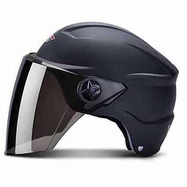 HONGYE 661 Motorcycle Helmet Electric Car Helmet Men And Women Summer Four Seasons Half Helmet Half-Cover Helmet Sunscreen Helmets