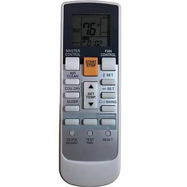 Replacement for Fujitsu Air Conditioner Remote Control Model Number AR-RAH1U