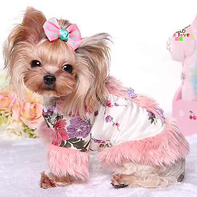 Hund Kjeledresser Hundeklær Hold Varm Prinsesse Kostume For kjæledyr