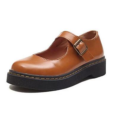 Women's Sneaker Comfort Summer PU Casual Black Brown 2in-2 3/4in