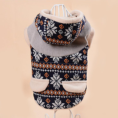 Dog Coat Dog Clothes Animal Black / Coffee Cotton Costume For Pets Men's / Women's Casual / Daily
