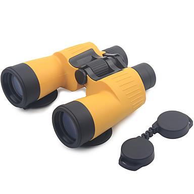 billige Kikkerter og teleskop-7 X 50mm Kikkerter Porro Objektiver Anti-Tåke Høy definisjon Matt Flerbelagt BAK4 / Vidvinkel / Jakt / Fuglekikking