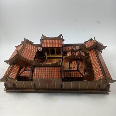 3D-puslespill Puslespill Kinesisk arkitektur Hus Tre Unisex Gave