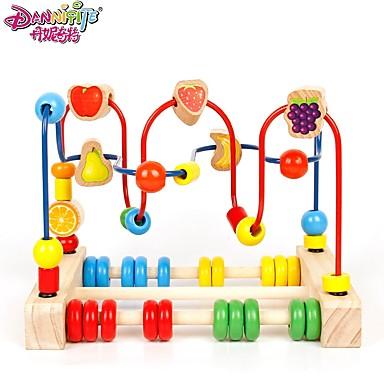 Danniqite Építőkockák Játékos számtan Szerepjátékok Oktatás Nagy méret Fa Fiú Gyermek Baba Ajándék