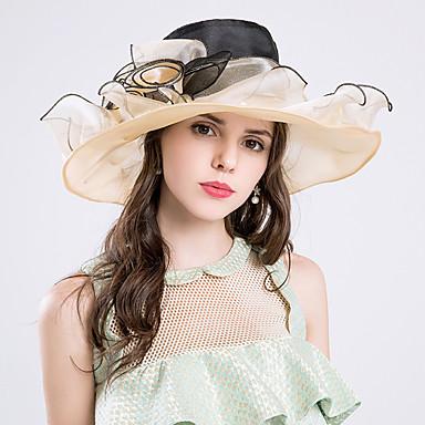 Silk / Organza Hats with 1 Wedding / Special Occasion / Party / Evening Headpiece