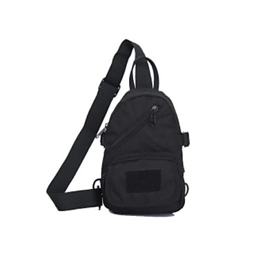 Men Sling Shoulder Bags Nylon All Seasons Casual Outdoor Round Zipper Green Black Brown
