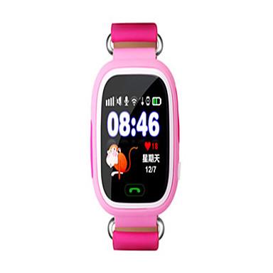 baratos Relógios Senhora-Homens Mulheres Relógio de Moda Relógio inteligente Digital Couro PU Acolchoado Azul / Rosa / Amarelo 30 m Impermeável Digital Azul Claro Amarelo Rosa claro