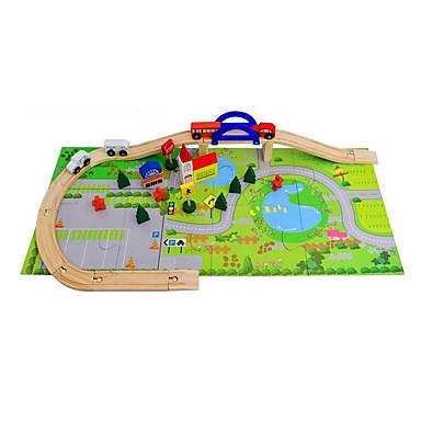 Carros de Brinquedo Jogos de Labirinto & Lógica Trem Brinquedos Cauda 3D Madeira Crianças Para Meninos Peças