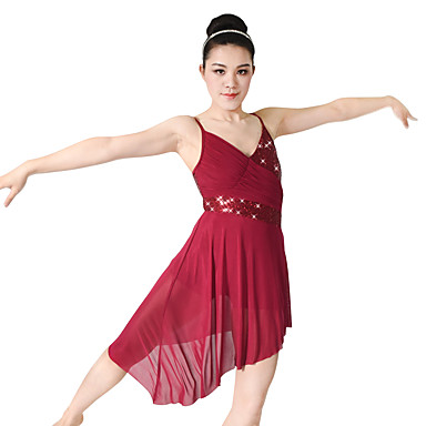 db1996ff3 Ballet Dresses Women s Performance Polyester   Spandex   Sequined ...