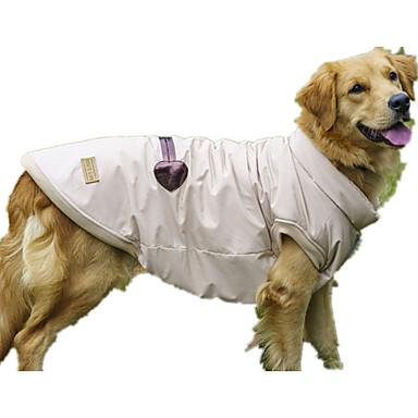 Hund Vest Hundeklær Fritid/hverdag Ensfarget Beige Kostume For kjæledyr