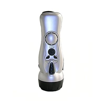 Alarm lommelykt Plast Nødhjelp Kvinne Selvforsvar LED Lys Nødbelysning Selvforsvar lommelykt LED-lampene blinker alarm