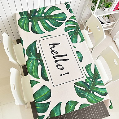 Others Printing Table cloths , Cotton Blend Material Other