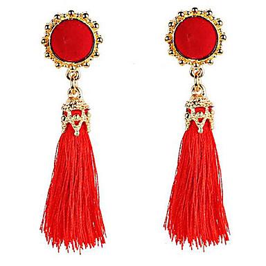 Belly Dance Jewelry Women's Performance Polyester Tassel Earrings