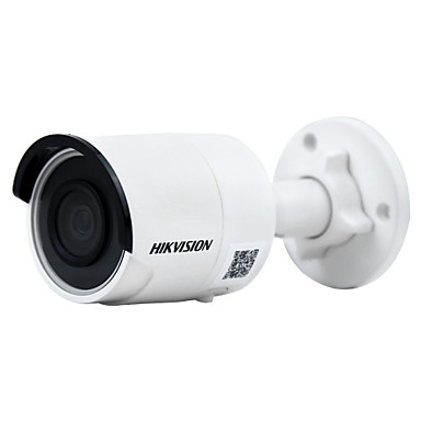 hikvision® ds-2cd2085fwd-i câmera ip 8mp (12 vcc & poe ip67 30m ir built-in slot sd h.265 3d ​​dnr detecção de movimento)