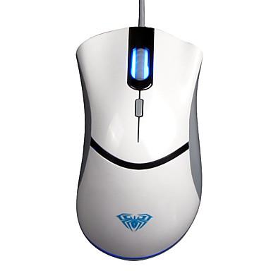 Aula usb 4 avainta fps 500Hz peli hiiri valkoinen with180cm johto