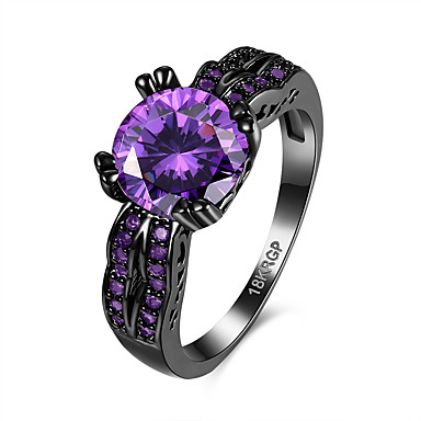 Women's Ring Unique Design Vintage Copper Gold-Plated Jewelry Birthday Party Evening Gift Daily