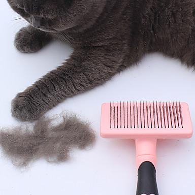 Gato Cachorro Tosa & Penteados Saúde Pentes Escovas Retratável Azul Rosa claro