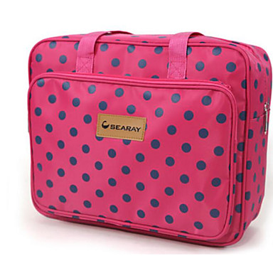 Women's Bags Polyester Travel Bag for Casual Outdoor All Seasons Fuchsia Arm Green Navy Blue