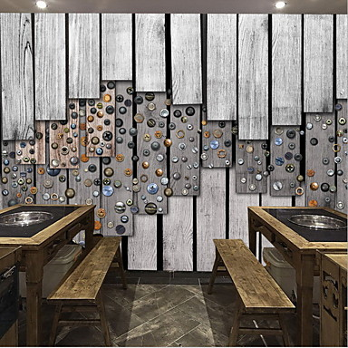 3D Wallpaper For Home Modern Wall Covering , Non-woven fabric Material Adhesive required Mural , Room Wallcovering