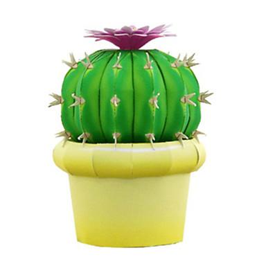 voordelige 3D-puzzels-3D-puzzels Ballen Bouwplaat Cactus DHZ Simulatie Hard Kaart Paper Klassiek Kinderen Unisex Jongens Speeltjes Geschenk