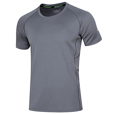 Men's Running T-Shirt Short Sleeves Moisture Wicking Quick Dry Breathable Sweatshirt for Running/Jogging Casual Exercise & Fitness