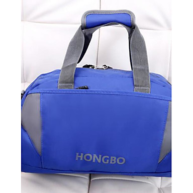 Unisex Travel Bag Oxford Cloth Polyester All Seasons Casual Outdoor Round Zipper Blue Green Black Red