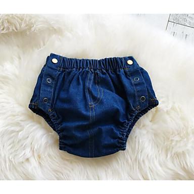 Boys' Solid Shorts Summer Blue