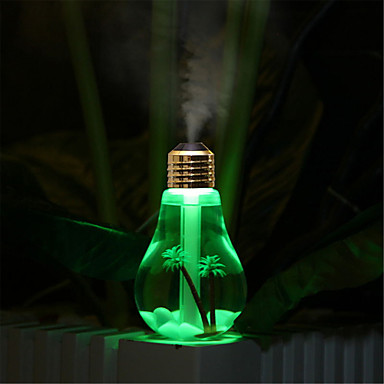 YWXLIGHT® 1set Other LED Night Light USB Waterproof Humidified Color-Changing Decorative