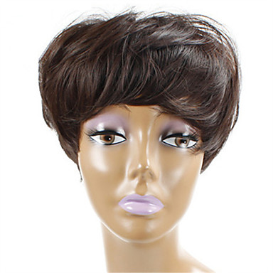 Synthetic Hair Wigs Curly Capless Natural Wigs Short Long Brown