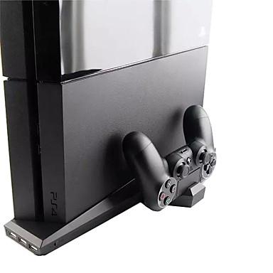 Carregador / Colarinho Chinês / Ventoínhas Para PS4 / PS4 Magro ,  Carregador / Colarinho Chinês / Ventoínhas Metal / ABS 1 pcs unidade