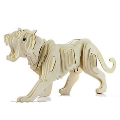 Quebra-Cabeças 3D Quebra-Cabeças de Metal Modelos de madeira Brinquedos de Montar Outros Faça Você Mesmo Madeira Natural Clássico