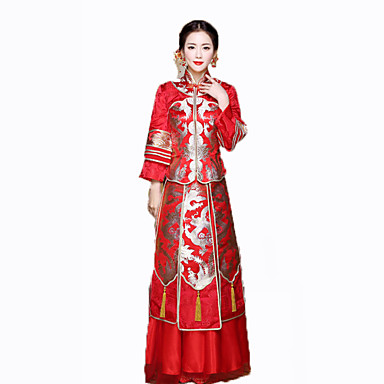 Cosplay Outfits Women's New Year Festival / Holiday Halloween Costumes Embroidered Vintage