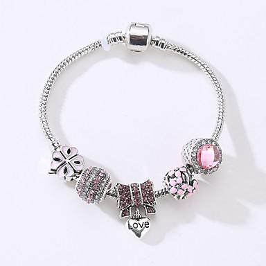 Women's Strand Bracelet - Fashion Circle White Black Blue Pink Bracelet For Wedding Anniversary Event / Party Party / Evening Dailywear
