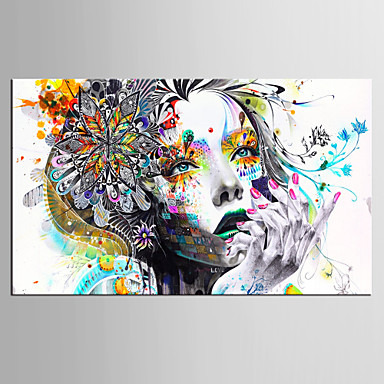 stampe artistiche ritratti modern un pannello orizzontale