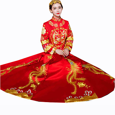 Cosplay Outfits Women's New Year Festival/Holiday Halloween Costumes Vintage Embroidered