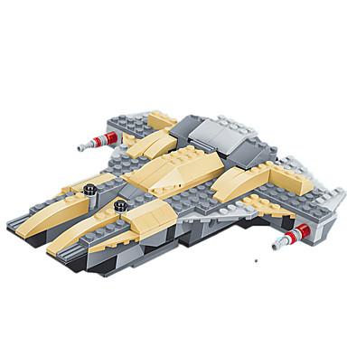 JIE STAR Blocos de Construir Brinquedos de Montar Quadrada Pato Tanque Aeronave Torre Para Meninos Unisexo Brinquedos Dom