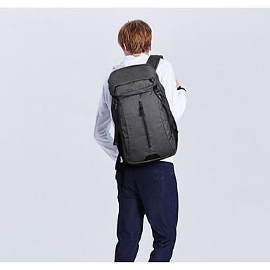 Men Shoulder Bag Polyester All Seasons Casual Outdoor Round Zipper Gray Black Grey