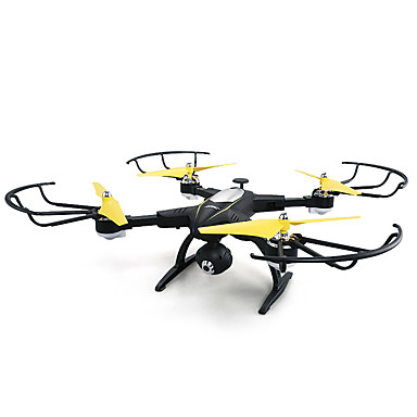 RC Drone JJRC H39WH Black 4CH 6 Axis 2.4G With HD Camera 720P RC Quadcopter FPV / LED Lights / Headless Mode RC Quadcopter / Remote