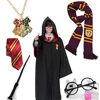 Mais Acessórios Inspirado por Fantasias Magic Harry Anime Acessórios para Cosplay Uniforme de Pano Para Meninas Para Meninos