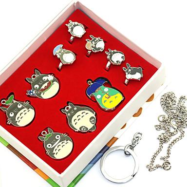 Mais Acessórios Inspirado por Meu Vizinho Totoro Ran Mao Anime Acessórios para Cosplay Anéis Liga