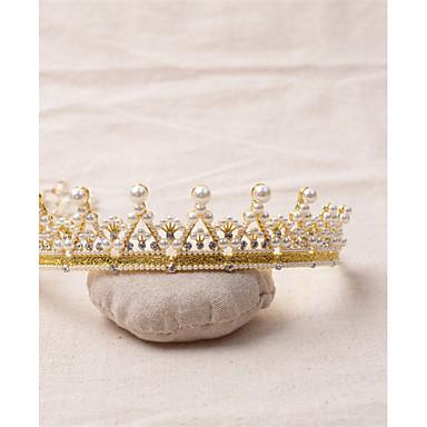 Gemstone & Crystal / Tulle / Rhinestone Tiaras / Headpiece with Crystal / Feather 1 Wedding / Special Occasion / Birthday Headpiece