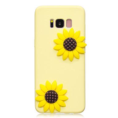 Capinha Para Samsung Galaxy S8 Plus / S8 Estampada / Faça Você Mesmo Capa traseira Flor Macia TPU para S8 Plus / S8 / S7 edge