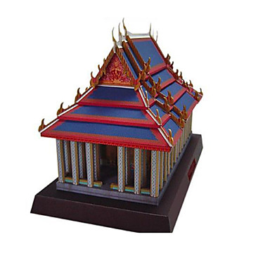 Quebra-Cabeças 3D Maquetes de Papel Artesanato de Papel Brinquedos de Montar Construções Famosas Arquitetura Faça Você Mesmo Clássico