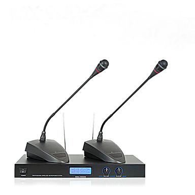 Sem Fio Microfone Microfone Condensador Microfone de Mesa Para escritório comercial
